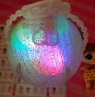 Кукла ЛОЛ 2 в 1 (4 серия, светящийся шар)