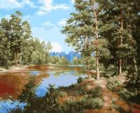 Картина по номерам 40 х 50 ZX 20821 Сосновый лес