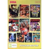Картридж Sega Сега 21 в 1 АА 210002