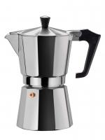 Кофеварка гейзерная алюминиевая 300 мл