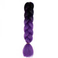 Конеколон коса Фиолетовый черный