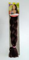 Конеколон коса Jumbo Braid цвет М4 коричневый