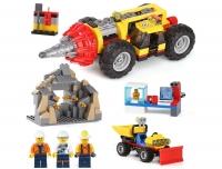 Конструктор Лего Lego Bela 10875 Тяжелый бур для горных работ
