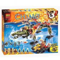 Конструктор Лего Спасение короля Кроминуса Chimo 10358