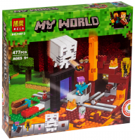 Конструктор Лего Портал в Подземелье My world 10812, 477 дет