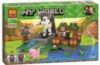 Конструктор Лего Голем на ферме My world 10962, 219 дет
