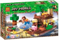 Конструктор Лего Остров сокровищ My world 11136, 248 дет
