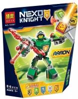 АКЦИЯ! Конструктор Лего Lego (Bela) Nexo Soldiers Боевые доспехи Ааро 10587, 86 дет