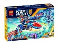АКЦИЯ! Конструктор Лего (Lego) nexo knights 10596 Самолет-истребитель Сокол Клэя 529 дет.