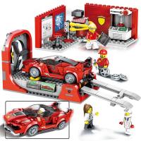 Конструктор Лего Феррари FXX K и Центр разработки и проектирования Speeds Champion 10781, 526 дет