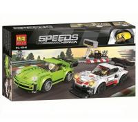 Конструктор Лего Porsche 911 RSR и 911 Turbo 3.0 Speeds Champion 10946, 409 дет