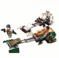 АКЦИЯ! Конструктор Lego BELA 10369 star wars Скоростной Спидер Эзры Бриджера, 252 дет