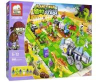 Конструктор Elephant JX 90073 Растения против зомби