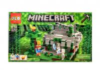 Конструктор Лего Храм в джунглях 3D35 My world 593 детали