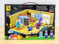 Конструктор Лего игрушка RENZAIMA 707 - 706 AMONG US среди нас