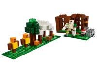 Конструктор Лего Аванпост разбойников My world 11476, 321 дет