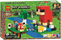 Конструктор Лего Шерстяная ферма My world 11361