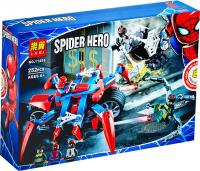 Конструктор LARI Super Heroes 11498 Человек-паук против доктора Осьминога