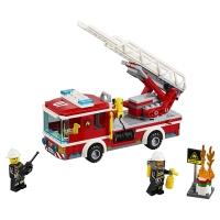 Конструктор Lego BELA Cities 10828 Пожарный автомобиль с лестницей, 225 дет