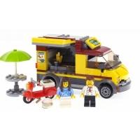 Конструктор Лего Bela City 10648 Фургон-пиццерия, 261 дет