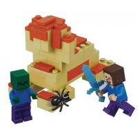 Конструктор Лего Bela Minecraft Стив и Зомби 10191, 66 дет