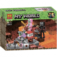 Конструктор Лего Bela My world 10808 Бой в Подземелье