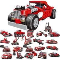 Конструктор Лего Decool 31010 Technic гоночный автомобиль 20 в 1