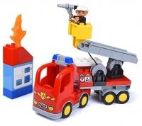 Конструктор Лего Дупло Gorock 1010 Пожарный грузовик 30 дет