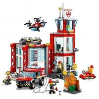 Конструктор Лего Lari 11215 Пожарное дело, 533 дет