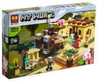 Конструктор Лего Lari My world 11477 Патруль разбойников