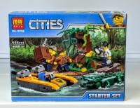 Конструктор Лего Lego Bela 10708 Джунгли для начинающих, 106 дет