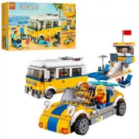 Конструктор Лего Lego bela 11047 Фургон сёрферов