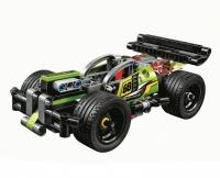 Конструктор Лего Lego Bela Technica 10820 Зеленый гоночный автомобиль