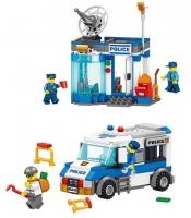 Конструктор Лего Lego lele 28005 Полицейский пост и мобильная тюрьма