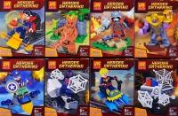Конструктор Лего Lego LELE 34076 Супер герои фигурки героев