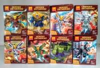 Конструктор Лего Lego LELE 34082 Супер герои фигурки героев