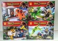 Конструктор Лего Lego ZB 9916 Парк динозавров