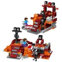 Конструктор Лего LELE Minecraft Бой в Подземелье 33190, 287 дет