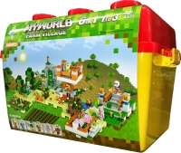 Конструктор Лего LXA Minecrtaft 053 Деревня, 1006 дет