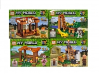 Конструктор Лего PRCK Minecrtaft 63034 Смотровые площадки 4 вида