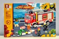 Конструктор Лего QL 0219 City Пожарная машина