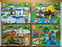 Конструктор Lego Tenma TM 7103 Minecraft Локации