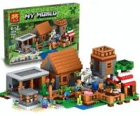 Конструктор Лего Lego minecraft lele 79288 Lepin 18010 деревня, 1106 дет