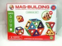 Конструктор магнитный Mag Building (20 деталей)