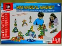 Конструктор магнитный Magical Magnet (158 деталей)