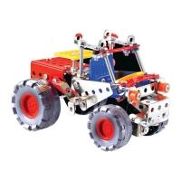 Конструктор металлический «Трактор», 4 в 1, 160 деталей