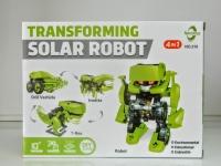 Конструктор на солнечной батарее solar robot 4 в 1