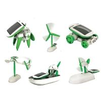 Конструктор Робот на солнечной батареи 6 В 1 SOLAR ROBOT