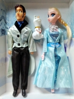 Кукла Холодное сердце набор 3 в 1 Эльза, Принц Ханс и Олаф