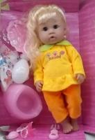 Кукла интерактивная Baby Love (Baby Burn), говорит, ходит в туалет, купается
